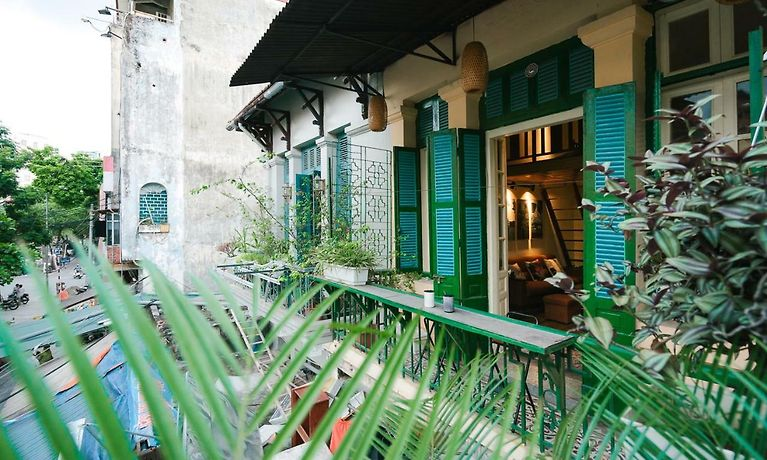 Ciel Jardin Old Quarter Indochine Villa Hanoi